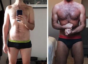 """""""Dani alapos munkájának hála testem erősebb lett, jobban állnak rajtam a ruhák és javult a tartásom, tényleg  a legjobb vegán személyi edző.""""   Orosz Tamás"""